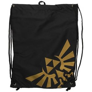 Bioworld Sac de gym en toile Zelda