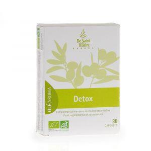 De Saint Hilaire 30 capsules compléments alimentaire aux huiles essentielles Detox