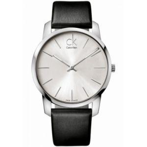 Calvin Klein Montre bracelet à quartz analogique cuir K2G211 C6