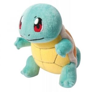 Tomy Peluche Pokémon 20 ans Carapuce 18 cm