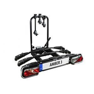 EUFAB Porte-vélos Plateforme Sur Attelage 3 Vélos Amber Iii
