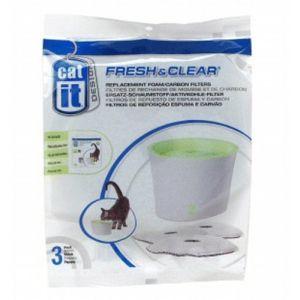 Catit Filtres de rechange Fontaine à eau Fresh & Clear 3l (par 3)