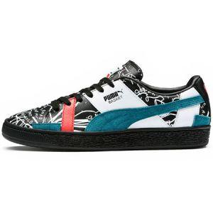 Puma Basket Graphic Sm W chaussures black/dragonfly 39,0 EU