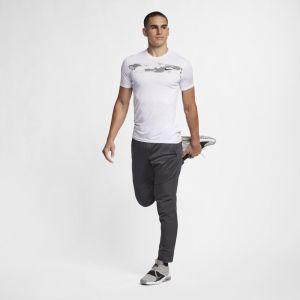 Nike Pantalon de training Dri-FIT Homme - Noir - Taille L