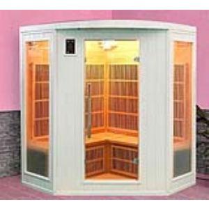 France Sauna Soleil Blanc 3/4 - Sauna cabine à infrarouge pour 3/4 personnes