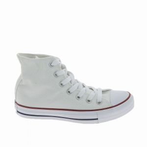 Converse Youths Chuck Taylor All Star Hi - Sneakers Basses - Mixte Enfant - Blanc Optical - 30 EU