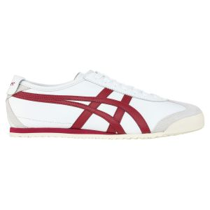 Onitsuka Tiger Chaussures casual Mexico 66 Blanc / Rouge - Taille 46