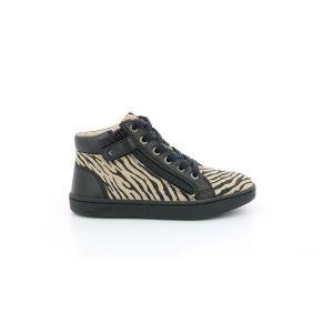 Kickers Lyluby, Sneakers Haute Fille, Blanc, 35