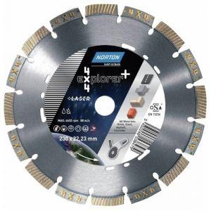 Norton clipper Disque à tronçonner 4 X 4 Explorer 230mm,