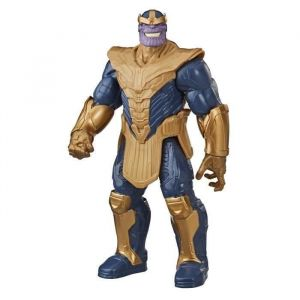 Hasbro Marvel Avengers – Figurine Thanos Titan Hero Blast Gear Deluxe - 30 cm