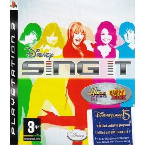 Disney Sing it [PS3]