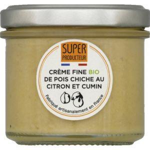 Super Producteur Crème fine bio de pois chiche au citron et cumin