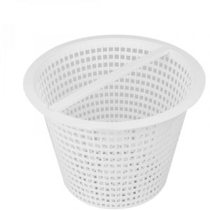 Linxor Panier rond pour skimmer de piscine - Diam 18.5 cm - Blanc