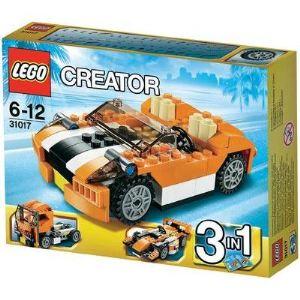 Lego 31017 - Creator 3 en 1 : La décapotable orange