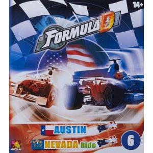 Asmodée Formula d - circuit austin / nevada ride - jeu famille