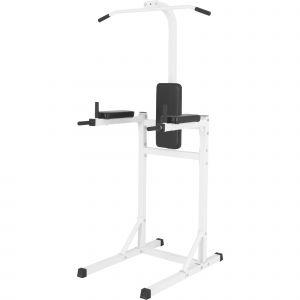 Gorilla Sports Station Pour Tractions - Chaise Romaine Noir Ou Blanc - Couleur : Blanc