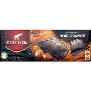 Côte d'Or Chocolat noir aux zestes d'orange confites - Le paquet de 240g