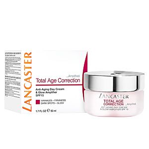 Lancaster Total Age Correction Amplified Anti-Aging Day Cream & Glow Amplifier SPF15 (50ml)