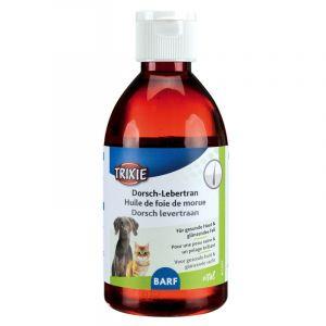 Trixie Huile de foie de morue à l'huile de chardon, 500 ml