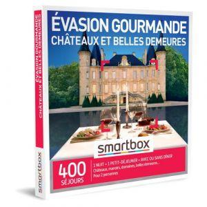Smartbox Coffret cadeau Évasion gourmande châteaux et belles demeures