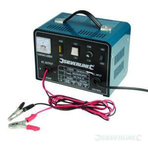 Silverline 178555 - Chargeur de batterie 12/24 V 18/12 A
