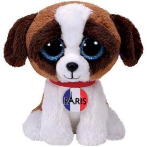 Ty Beanie Boo's : Duke Dog I Love Paris 15 cm