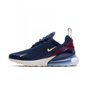 Nike Chaussure Air Max 270 pour Femme - Bleu - Taille 40