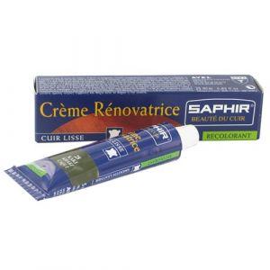 Saphir Crème rénovatrice cuir - gris foncé - tube 25ml - Cirage, Entretien, Imperméabilisant
