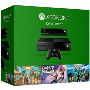 Microsoft Xbox One 500 Go + 3 jeux Kincect