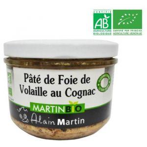Alain Martin Pâté de Foie de Volaille Bio - Lot de 6
