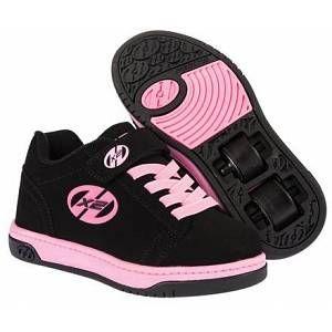 Heelys Dual Up 770231 - Sneakers Basses - Fille - Multicolore (Black/Pink) - 35 EU (3 UK)