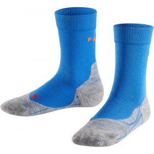 Falke RU4 - Chaussettes course à pied Enfant - bleu EU 31-34 Chaussettes course à pied