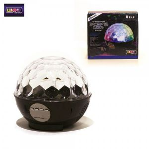 Enceinte bluetooth disco LED