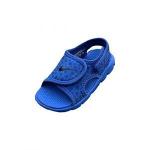 Nike Kindersandale Sunray Adjust 4, Sandales Bride Cheville Mixte Enfant, Bleu (Game Royal/Obsidian-414), 27 EU