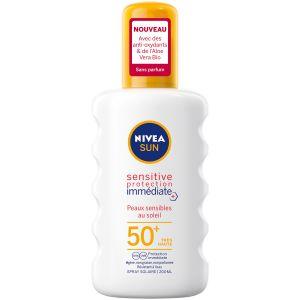 Nivea Sensitive protection immédiate 50+