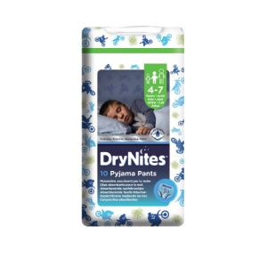 Huggies Dry Nites Pyjama Pants (4-7 ans) - 10 couches culottes