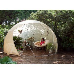 Garden Igloo Hiver - Abri de jardin 10 m2 avec couverture été