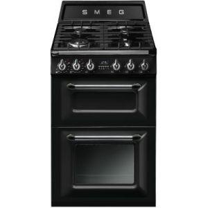 Smeg TR62 - Cuisinière mixte 4 foyers gaz avec 2 fours électriques