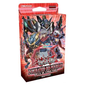Abysse Corp Cartes Yu-Gi-Oh ! Deck de structure Domination des pendules