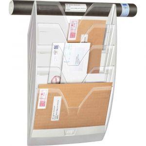 CEP Office Solutions Présentoir Mural 5 compartiments Blanc / Crystal,