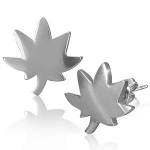 Zense ZE0036 - Boucles d'oreilles pour homme en acier