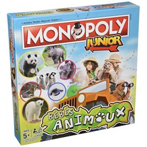 Image de Winning Moves Monopoly junior : Bébés Animaux