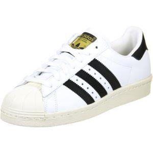 Adidas Superstar 80s chaussures blanc noir 38 EU