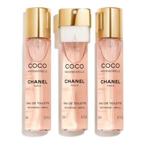 Chanel Coco Mademoiselle - Eau de toilette pour femme - 3 x 20 ml