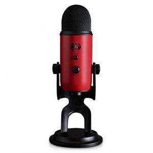 Blue microphones Blue Yeti USB Microphone - Satin Red