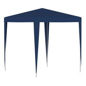 VidaXL Tente de réception 2x2 m Bleu