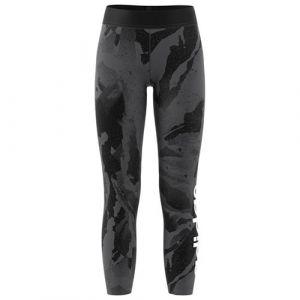 Adidas Mallas Essentials Allover Print Negro Gris Mujer - EU 164