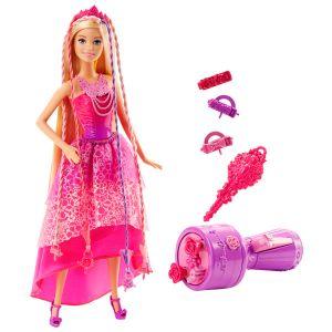 Mattel Barbie Princesse tresse magique