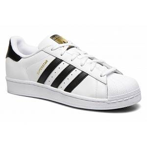 Adidas Originals Superstar, Baskets Basses Homme - Blanc (FTWR White/Core Black/FTWR White) - 43 1/3 EU