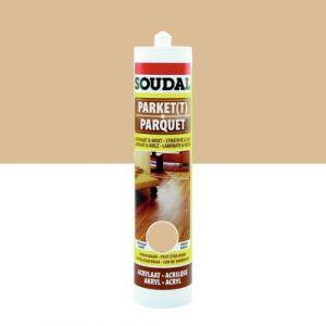 Soudal Mastic de rebouchage en acrylique pour parquet - chêne clair - 300 ml